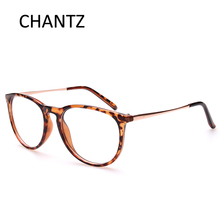 Vintage mens glasses frame women eyeglasses with PC and alloy plain 4 colors
