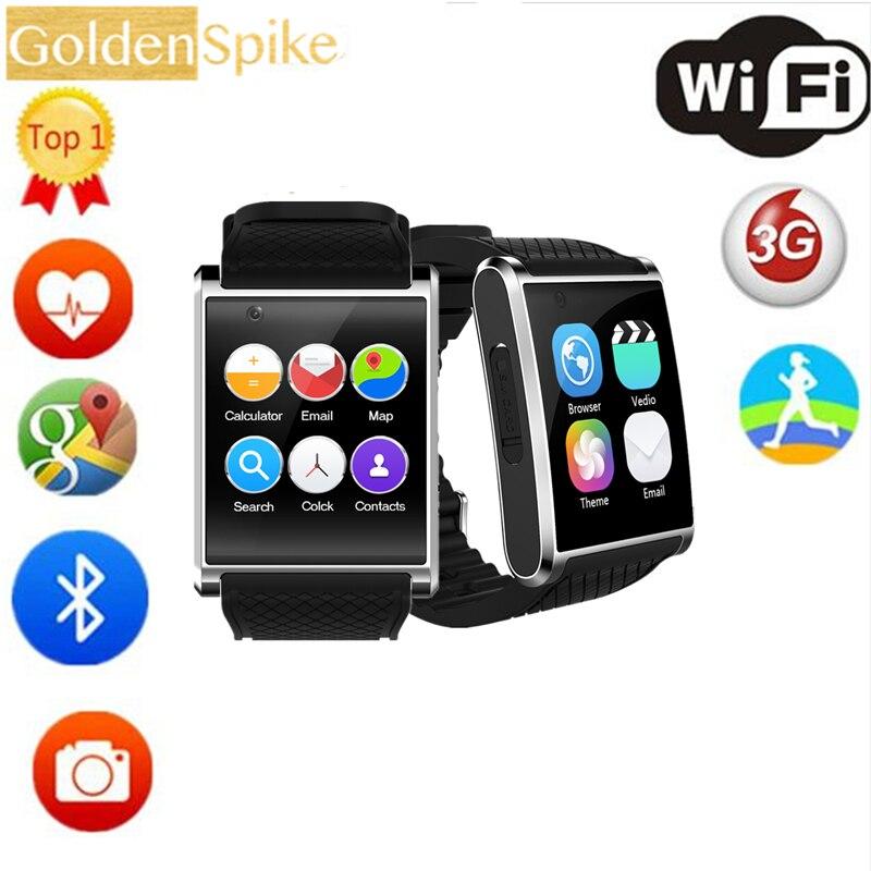 купить 2018 watch smartwatch X11 MTK6580 smart watch with pedometer camera 2.0M 3G WIFI GPS for xiaomi huawei SAMSUNG smart watch недорого
