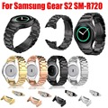 Stainless Steel Watch band with Connector Adaptor for Samsung Gear S2 RM-720 Soprt Strap for Samsung Gear S2 SM-R720 Band