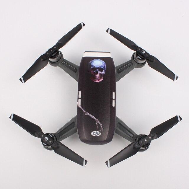 Защита камеры синяя для диджиай spark насадки для моторов для дрона mavic combo