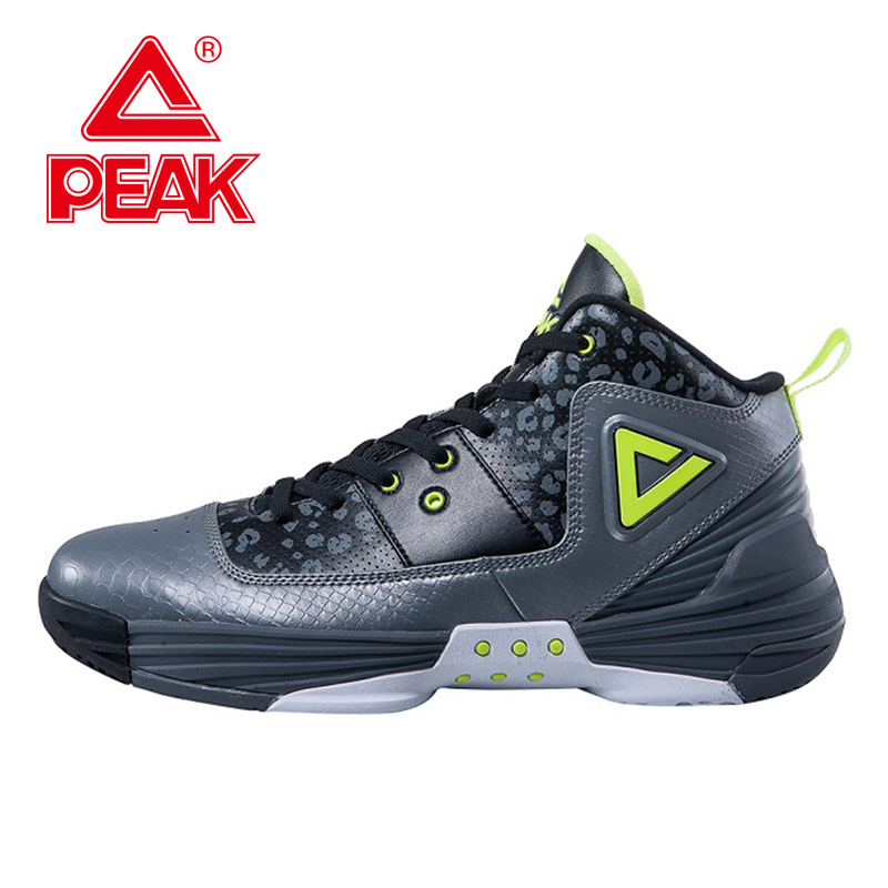 PEAK SPORT Monster II Men Basketball Shoes FOOTHOLD Tech Sports Sneakers Breathable Non-Slip Training Athletic Boots EUR 40-50 peak sport lightning ii men authent basketball shoes competitions athletic boots foothold cushion 3 tech sneakers eur 40 50