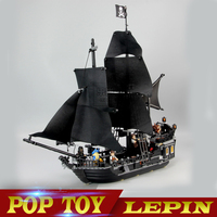 Lepin 16006 804pcs Building Bricks Pirates Of The Caribbean The Black Pearl Ship Model Toys Compatible