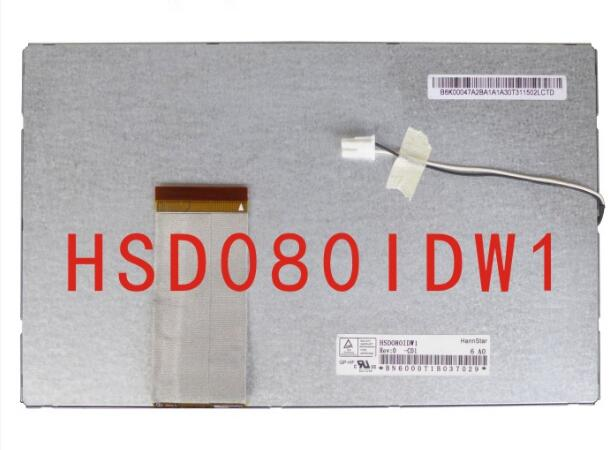 цена на New 8 inch KR080PD0S universal HSD080IDW1-C00 C01 LCD screen