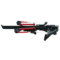 Semi Automatic Slingshot Hunting Fishing Bow Powerful Catapult Fix Reel Multifunction Steel Ball Ammo Arrow Continuous Shooting