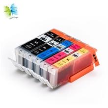 Winnerjet 5 Sets Colors Compatible PGI-580 CLI-581 PGI580 Ink Cartridges for Canon PIXMA TR7550 TR8550 TS6150 TS6151 Printers