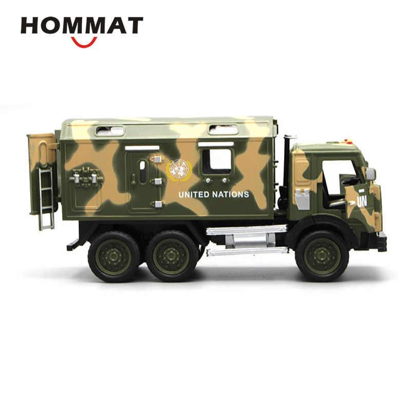 1//18 Maßstab Legierung Militärfahrzeug Militär Auto Lkw Truck Spielzeug