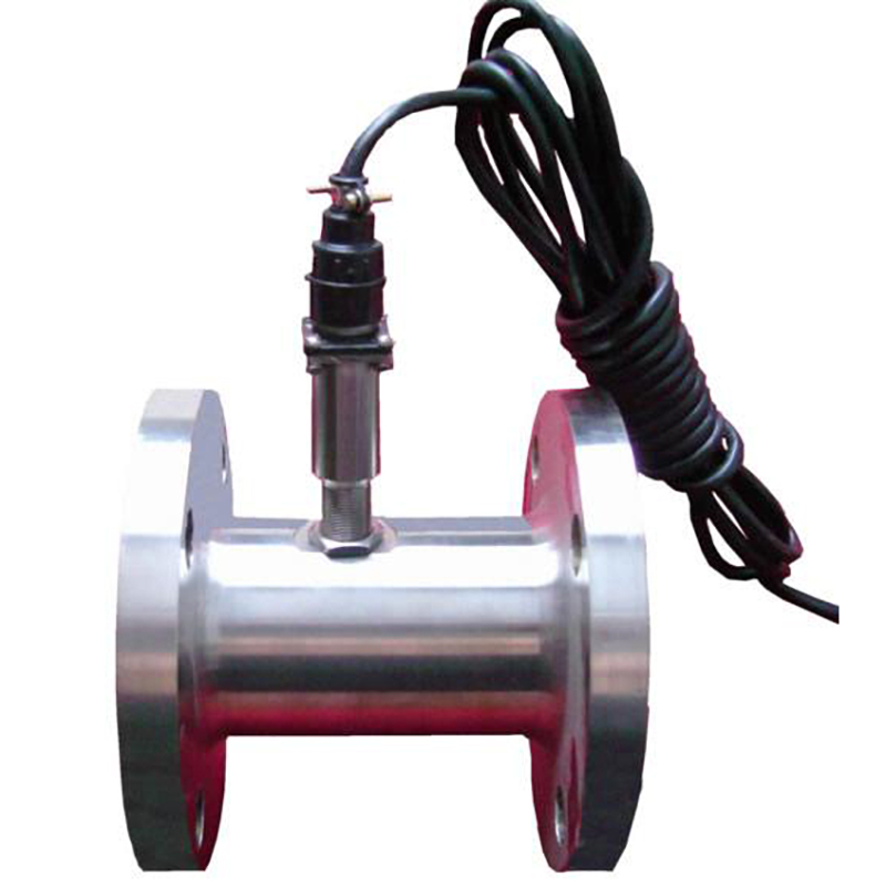 Liquid Turbine Flow Meter Sensor Counter Indicator Transmitter Threaded Connections DC24V 4 20mA Output