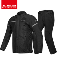 LS2 motorcycle Jersey suit men's four seasons universal winter warm waterproof shatter resistant cold winter motorcycle service