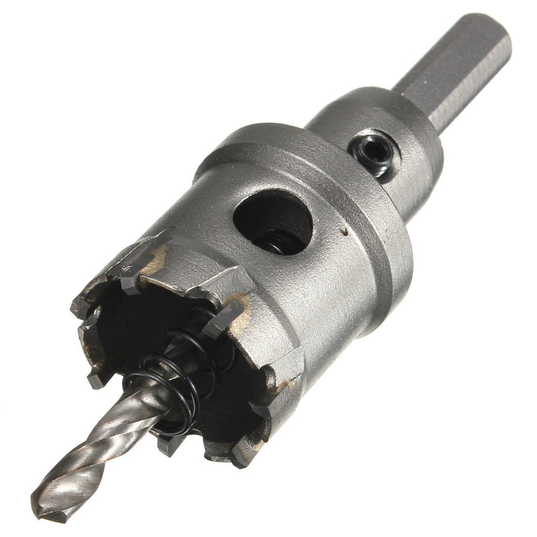 цена на LIXF Carbide Tip Metal Cutter Stainless Steel HSS Drill Bit Hole Saw Holesaw Size:32mm