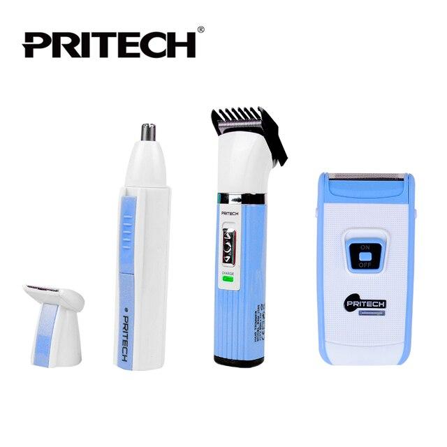 Pritech профессиональный мужской триммер для волос, для использования в дороге и дома RSM-2560