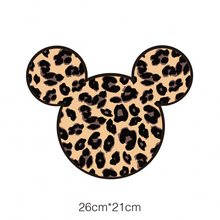 Buy 26x21cm Cartoon mouse Iron On Stickers Washable Appliques A-level Patches Heat Transfer For T-shirt DIY Accessory Clothing directly from merchant!