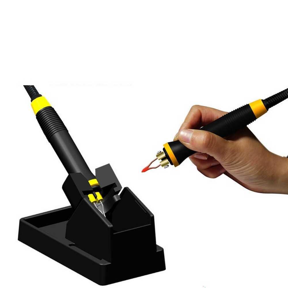 60W Wood Burning Pen Tool Multifunction Craft Pyrography Machine Burner Set Kit