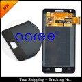"Completo 4.3 "" pulgadas Original para Samsung Galaxy S2 i9100 S2 i9105 plus pantalla LCD táctil digitalizador asamblea envío gratis"