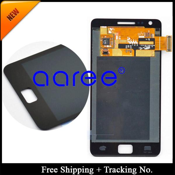 """Prix pour Plein 4.3 """"pouces pour samsung galaxy s2 i9100 s2 plus i9105 lcd écran tactile digitizer assemblée livraison gratuite"""