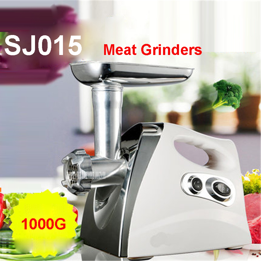220V/50Hz Household machine meat grinder machine multifunction electric grinder mincing SJ015 300W Stainless steel Meat Grinders cheappest small household meat mincing machine wholesale