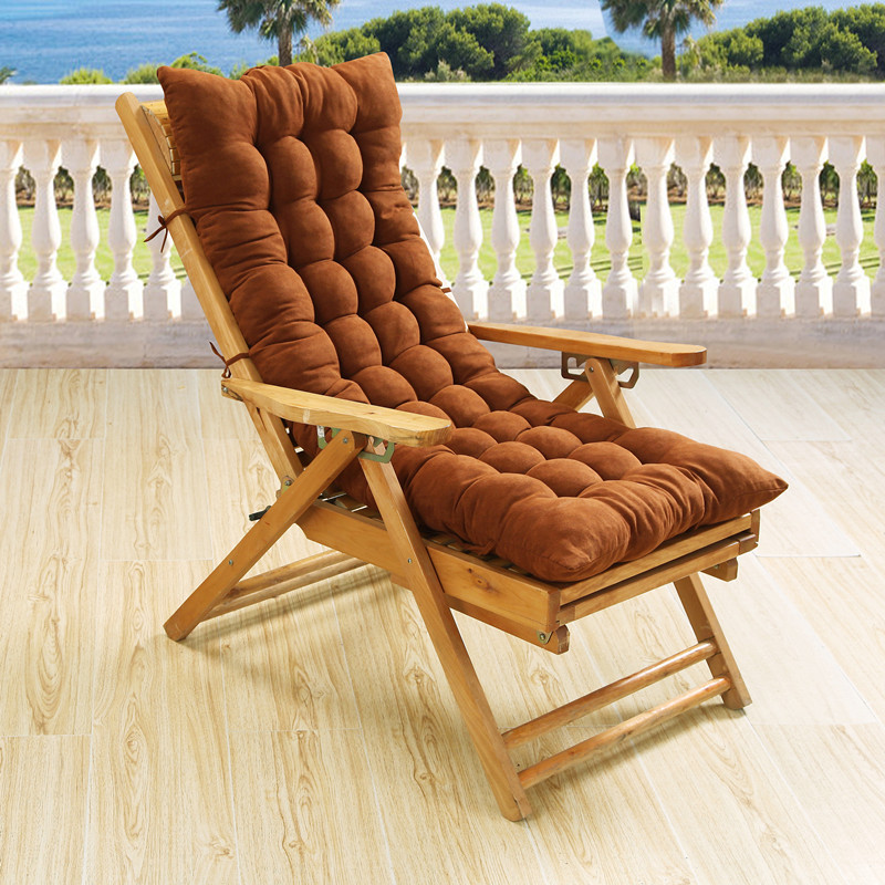 Chair Cushion For Beach Office Soft Plaid Pillow Plush Dining Seat Ocks Pad Fit Home 8 Colors In From Garden On