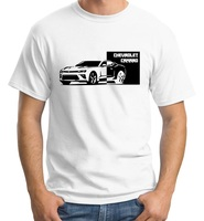 42a72f0e09 Camaro Block Shirt Chevrolet Chevy Zl1 Ss Z28 Iroc American Muscle Race  Cotton Men 2019 Summer