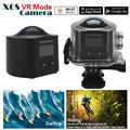 Panoramic X6S 360 degree Wifi Camera 2448*2448 Sport Action Camera Support VR Mode+Remote Free shipping!