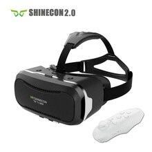 "VR Shinecon 2.0 Шлем Картона 3D VR Очки Мобильного Телефона 3D Видео Фильм для 4.7-6.0 ""Смартфон"