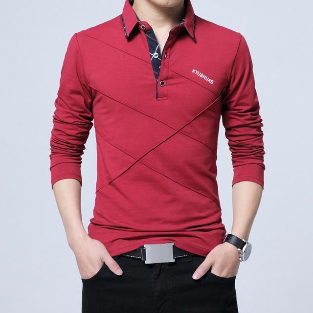 Brand Stripe Designer Slim Fit Casual Cotton  Plus Size 5