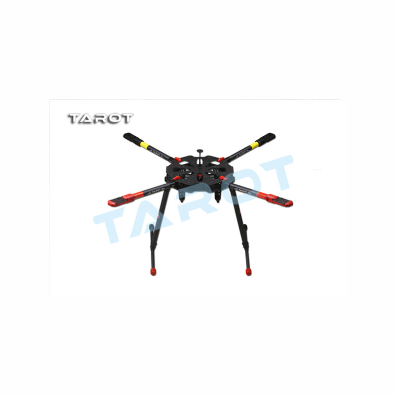 Tarot-RC F11282 Tarot TL4X001 X4 Umbrella Carbon Fiber Foldable Quadcopter Frame Kit w/ Electronic Landing Skid for RC Drone FPV hml350pro fpv auto retractable landing gear skid controller for phantom 1 2 vision fc40 rc quadcopter diy drone f16326