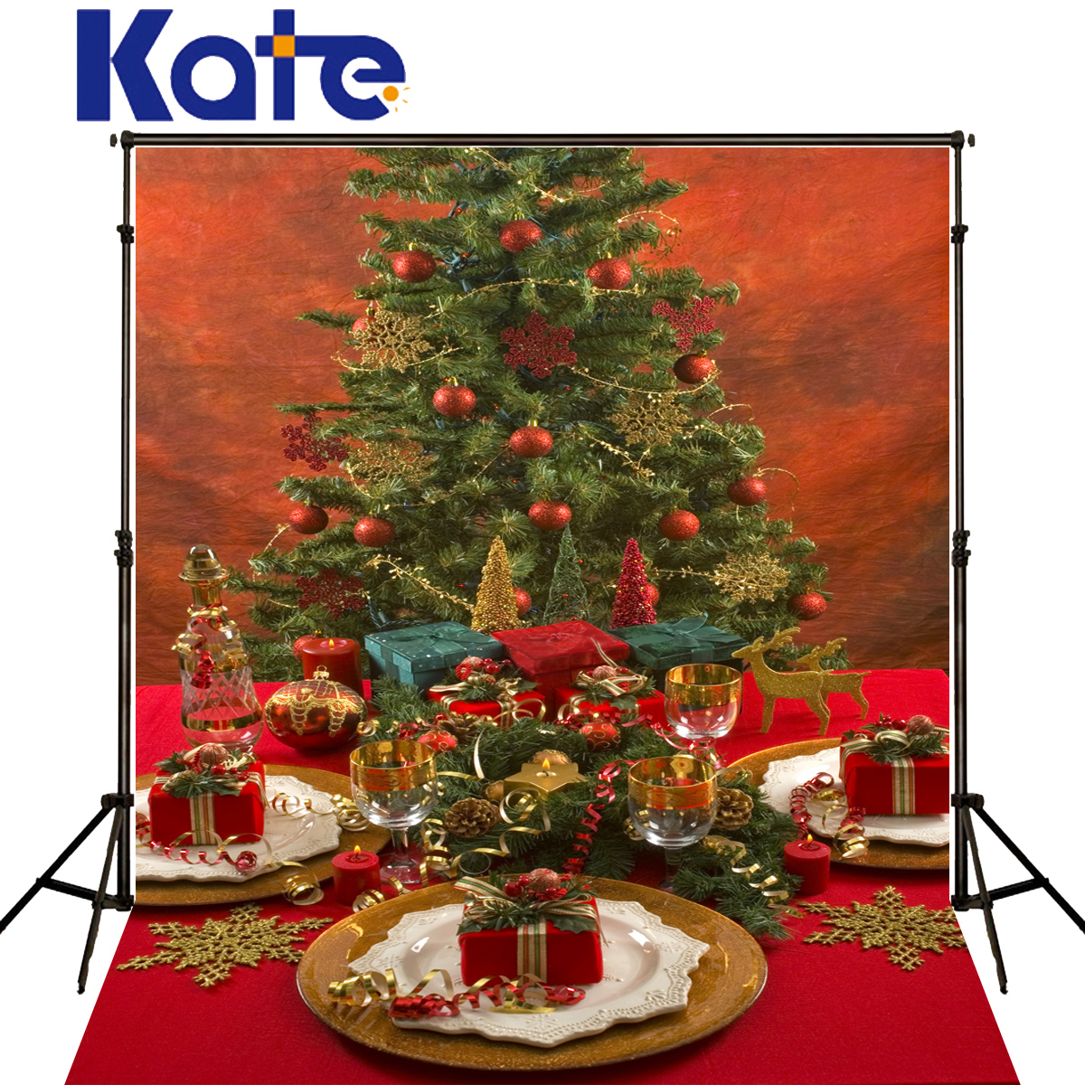 Party Backgrounds Christmas Ornaments Tree Photography wood kitchen ...