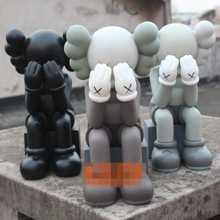 High Quality 16inch Original fake Kaws Companion Passing Thought  With  original box, Three color optional блузон fake ethics youth 8 16 лет