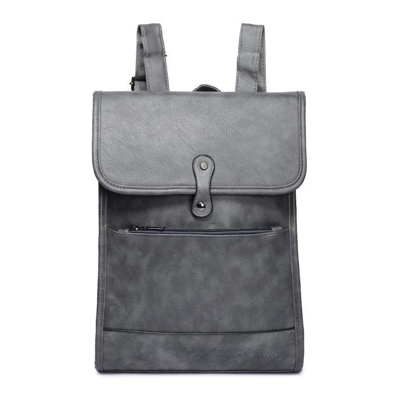 a7dd52af238 Item type: Backpack 100% brand new. Size: 28 cm *40 cm *8 cm. Material: PU  Color: gray; black; brown. Purpose: fashion men\`s bag