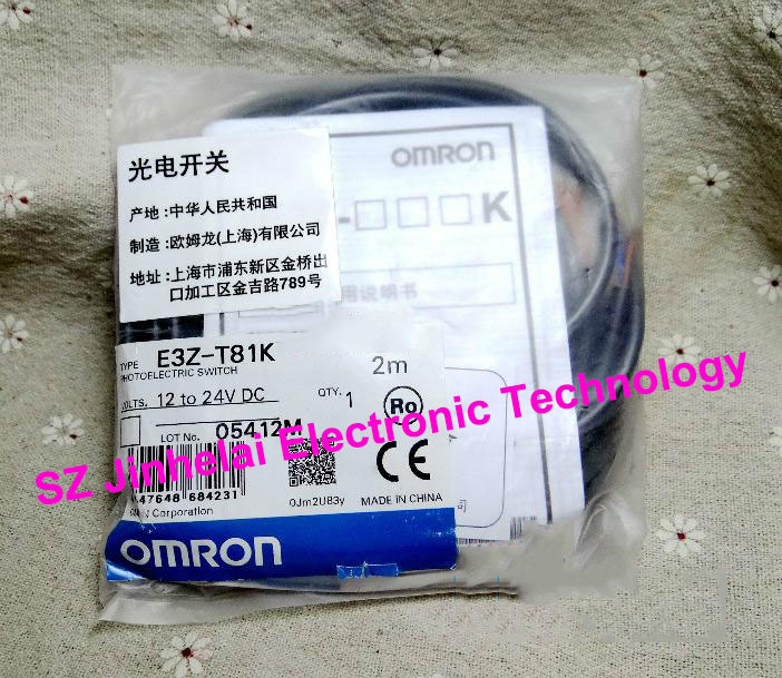 New and original E3Z-T81K OMRON Photoelectric switch Photoelectric sensor 12-24VDC