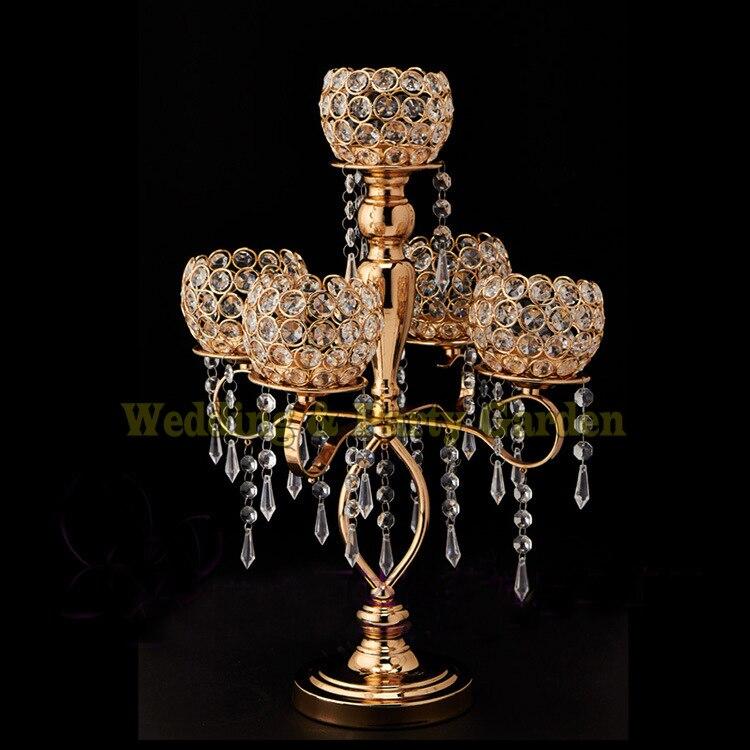 50cm Tall Crystal Candelabras Table Centerpiece Wedding Decor50cm Tall Crystal Candelabras Table Centerpiece Wedding Decor