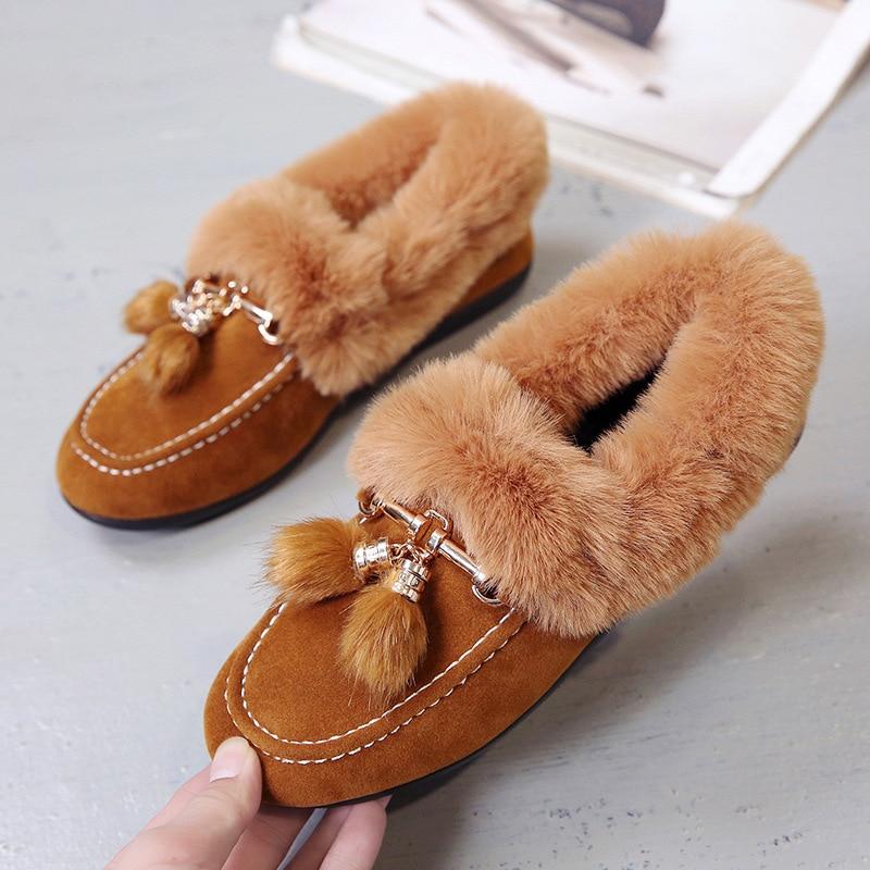 Nuevo Invierno Zapatos E Salvaje 2019 3 Mujer 1 Otoño Viento 2 De Caliente 6 Antideslizante Moda 5 Coreano 4 Británico EqCwtx7w