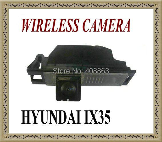 WIRELESS CAR/Auto REAR VIEW REVERSE CAMERA FOR Hyundai IX35 / I35 / Tucson 2011