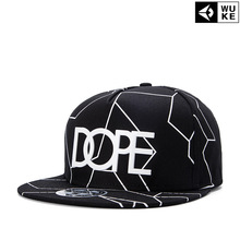 New fashion hat men and women Monogrammed baseball cap flat Brimmed Hat Cap Hat retro hip hop peaked cap simple casual style