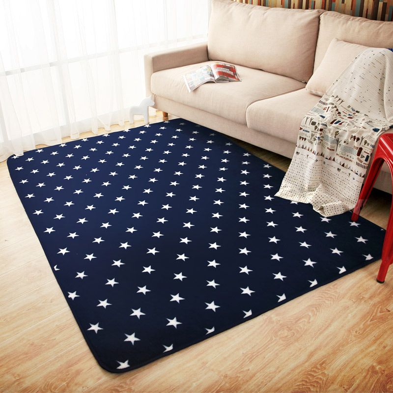 ᗛfashion Cartoon Stars Carpets For Living Room Children Bedroom