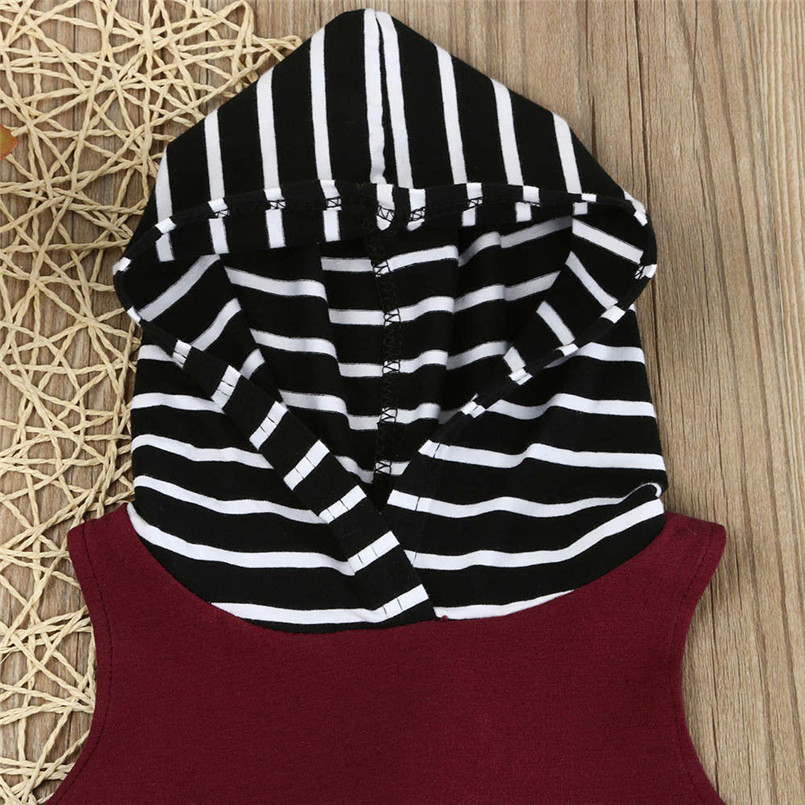 The new fashion cute design Toddler Kids Baby Boy Hooded Vest Tops+Shorts Pants 2pcs Outfits Clothes Set #4A08 (1)