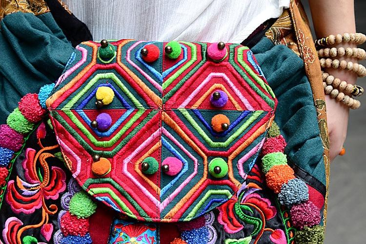 New Embroidery Bag Hilltribe Woman Embroidery Messager Handbag Round Pompon  Girls Bag Handbag GUDUO on Aliexpress.com  e66251fdd8b59