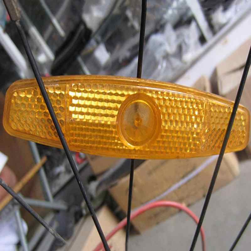Mountain F3I3 4X Bike Bicycle Wheel Spoke Reflectors Reflective Safe Road Mount
