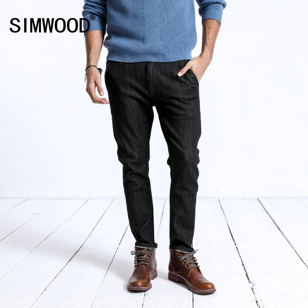 SIMWOOD 2019 Spring New   Jeans   Men Fashion Slim Fit Denim Trousers Streetwear High Quality Male Brand Clothes 180473