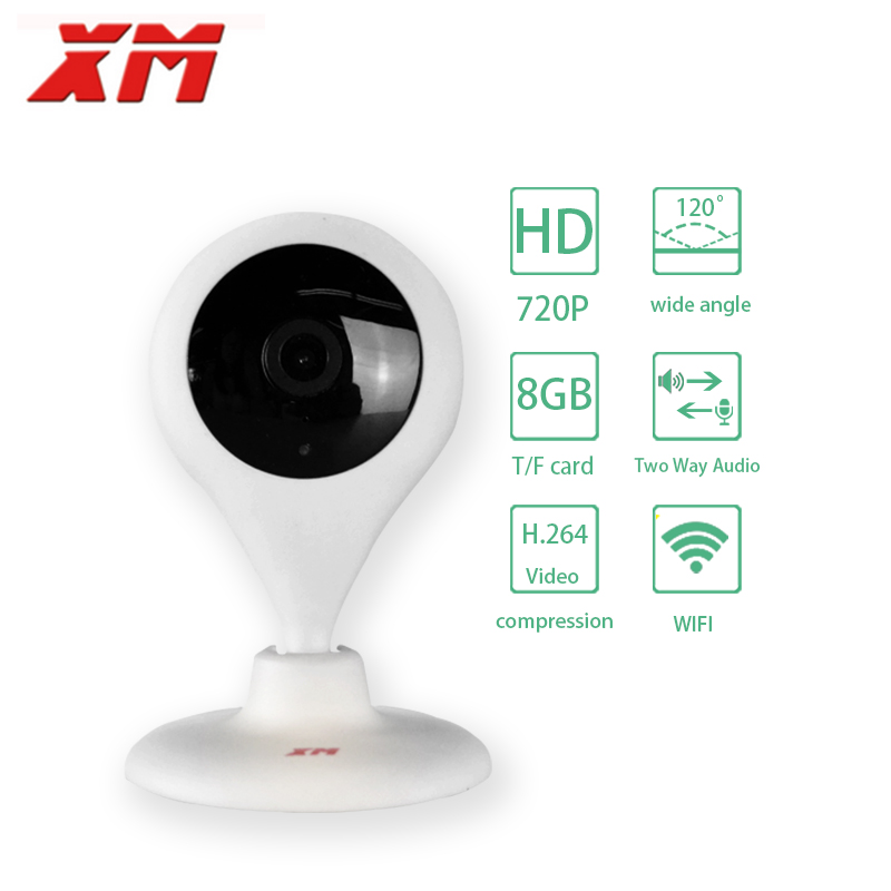 ФОТО  720P Full HD IP Camera Wifi Smart Baby Monitor Network CCTV Security Camera Home Protection Night Vision Cam