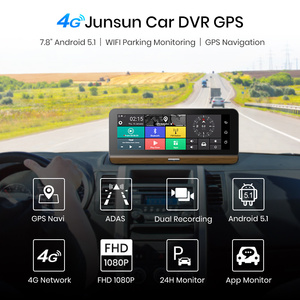 """Image 3 - Junsun E31P Pro Auto DVR Kamera 4G ADAS 7.80 """"Android OS GPS Navigator Registrar Video Dash Cam Recorder mit zwei kameras morror"""