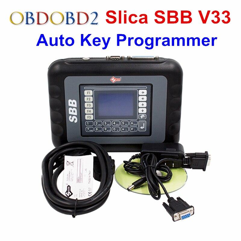Цена за Высокое качество SBB V33 программирования новый ключ Slica SBB Авто ключ транспондера иммобилайзеры V33.02 поддерживает 9 языков Бесплатная доставка