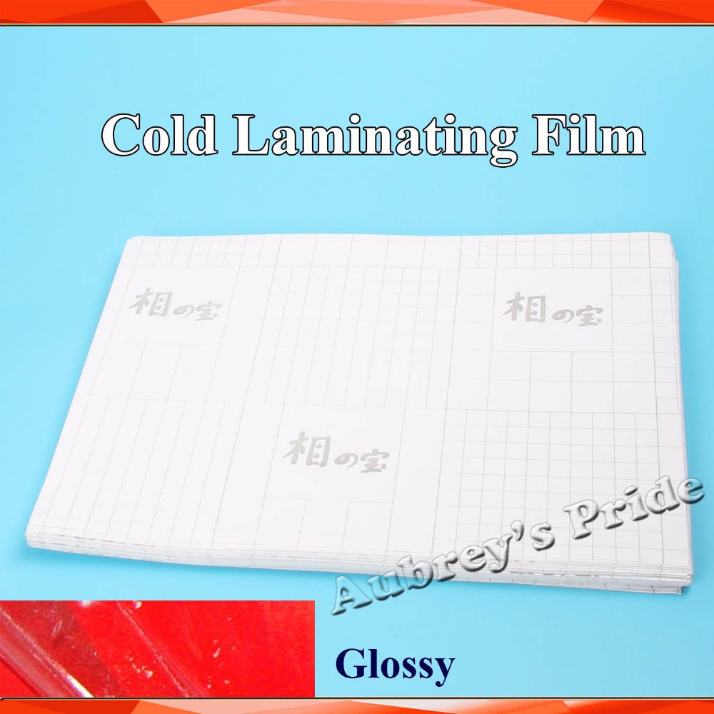 50sheets a4 210 297mm glossy clear uv luster pvc cold for Film protection uv fenetre