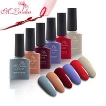 ФОТО m.ladea 6pcs/set 8.3ml uv gel nail polish set for manicure gel varnishes nail art uv&led lamp colorful series gel polish lacquer