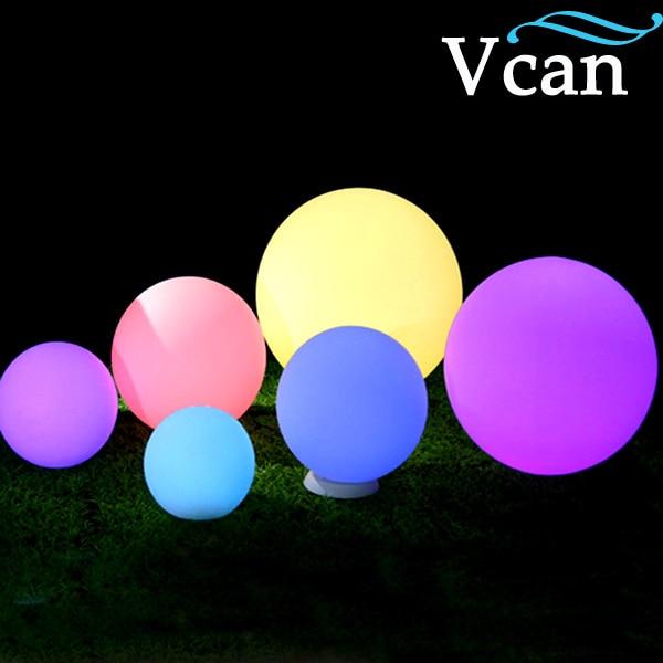 25cm Colorful RGB LED Ball VC B250