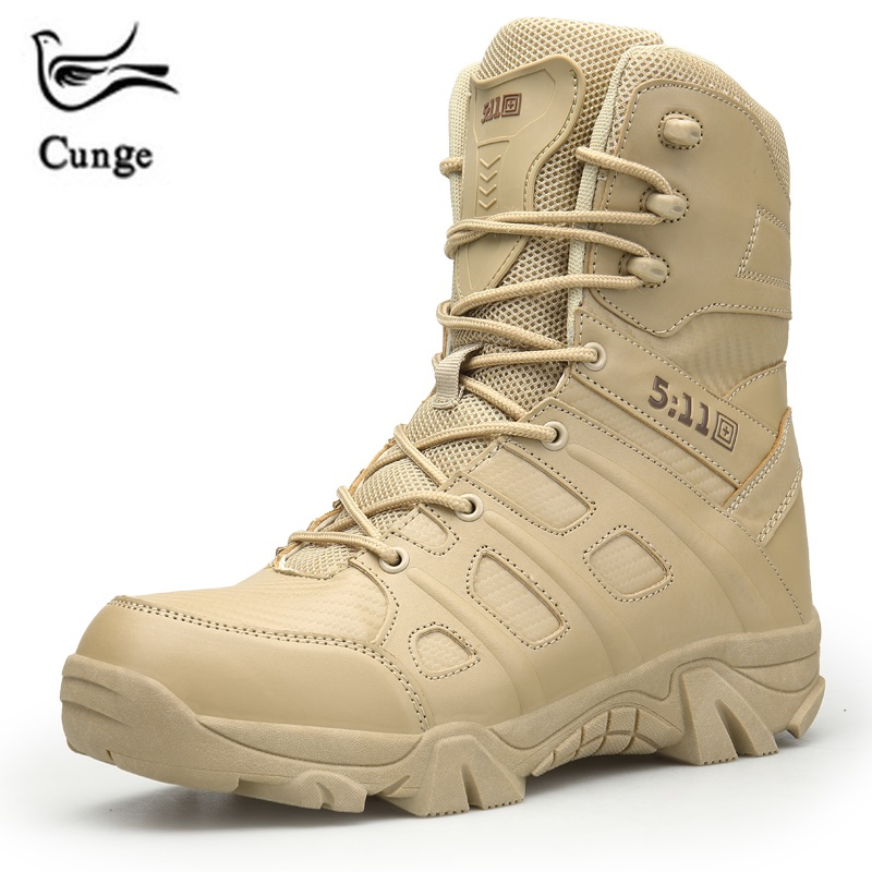 Cunge Winter Men Military Boots Quality Special Force Tactical Desert Combat Ankle Boats Army Work Shoes Snow Boots все цены