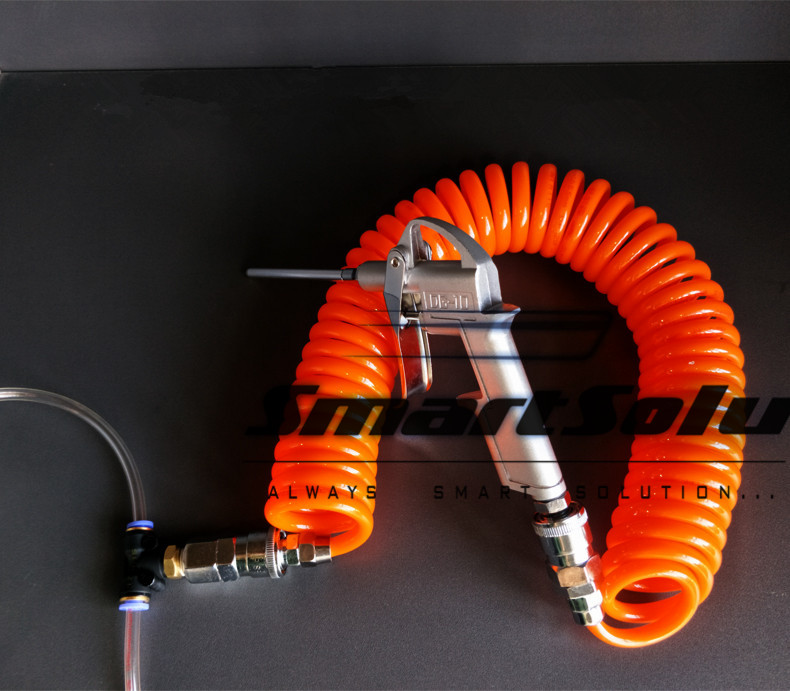 Free shipping High pressure dust truck robbed the cabin blowing dust gun set blowing tool blowing dust pipe blowing dust blower