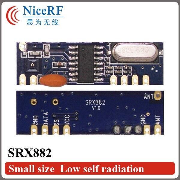 bilder für 15 teile/los High power ask-empfänger modul SRX882 433/315 MHZ starke stick super überlagerungs hf-transceiver-modul freies verschiffen
