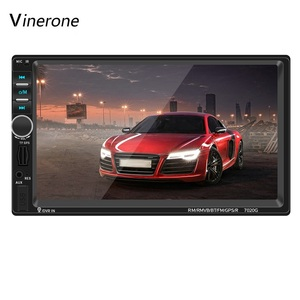 2 DIN 7'' 1080P Car Radio Bluetooth Touc