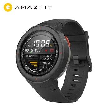 Globalna wersja Huami AMAZFIT Verge 3 GPS inteligentny zegarek mężczyźni IP68 ekran amoled odbieranie połączeń Smartwatch Multi nadajnik sportowy fitness