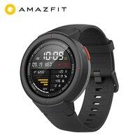 الإصدار العالمي Huami AMAZFIT Verge 3 ساعة ذكية لتحديد المواقع الرجال IP68 AMOLED شاشة الإجابة المكالمات Smartwatch متعددة الرياضة جهاز تعقب للياقة البدنية-في الساعات الذكية من الأجهزة الإلكترونية الاستهلاكية على